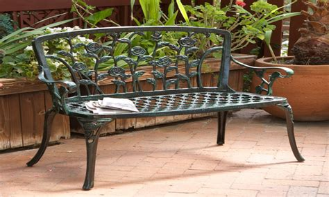 outdoor patio benches aluminum patio bench cast iron patio bench interior designs artflyzcom
