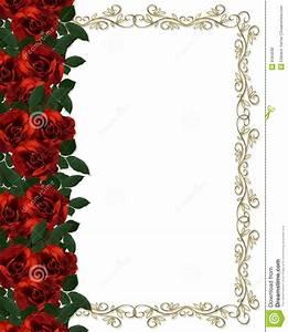 Red Rose Borders And Frames | www.pixshark.com - Images ...