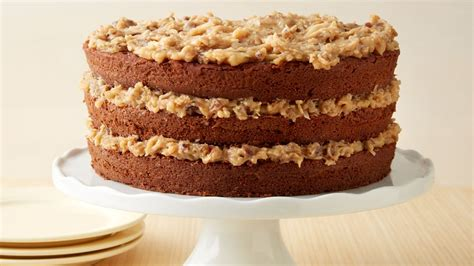 german chocolate cake  coconut pecan frosting recipe