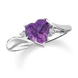 amethyst wedding ring shaped amethyst ring in 10k white gold with accents view all rings zales