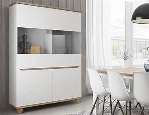 Vaisselier Blanc Et Bois : 56 best meubles de style scandinave images on pinterest meuble de style couleurs et meuble ~ Nature-et-papiers.com Idées de Décoration