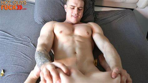 Guy And Model Using By Canadian Stud