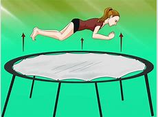 How to Do a Front Drop on the Trampoline 5 Steps with