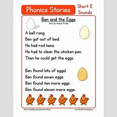 Free Phonics Reading Comprehension Stories E By Neidinha Franca Issuu