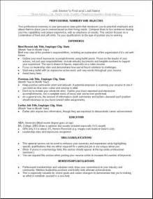 format of writing a curriculum vitae sle cv