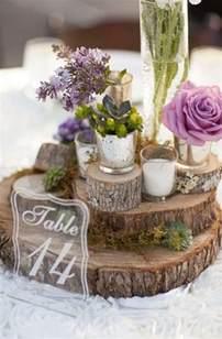 wedding table centerpieces best 20 wood slab centerpiece ideas on