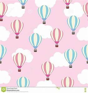 Seamless Background Of Baby Shower Illustration With Cute ...