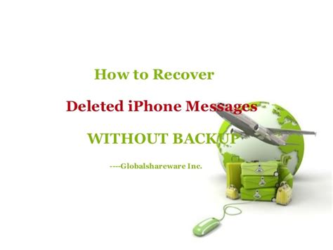 how to get back deleted photos on iphone how to recover deleted messages from iphone without backup