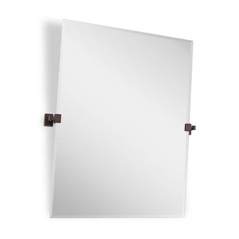 helsinki rectangular tilting mirror bathroom mirrors