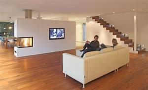 Kamin Als Raumtrenner : alles aus einer hand einfamilienhaus aus holz mit passivhausstandard in riedenburg bauhandwerk ~ Sanjose-hotels-ca.com Haus und Dekorationen