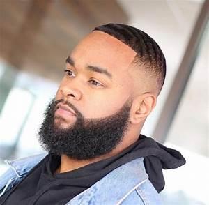 Dégradé Barbe Homme : coiffure homme noir avec barbe ~ Melissatoandfro.com Idées de Décoration