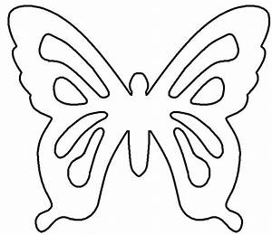 Butterfly wing outline clipartsco for Butterfly template to print