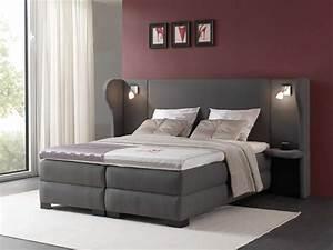 Lit Chevet Suspendu : lit avec chevet suspendu design en image ~ Teatrodelosmanantiales.com Idées de Décoration