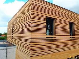 Bardage Façade Maison : bardage bois fa ades en 2019 bardage bois bardage et bardage bois ext rieur ~ Nature-et-papiers.com Idées de Décoration