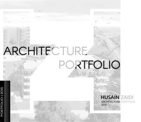 12772 architecture cover page design architecture portfolio by husain zaidi issuu