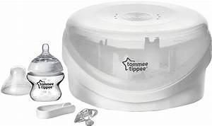 Tommee Tippee Microwave Sterilizer Box Instructions
