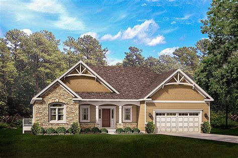 exclusive  story craftsman house plan   master