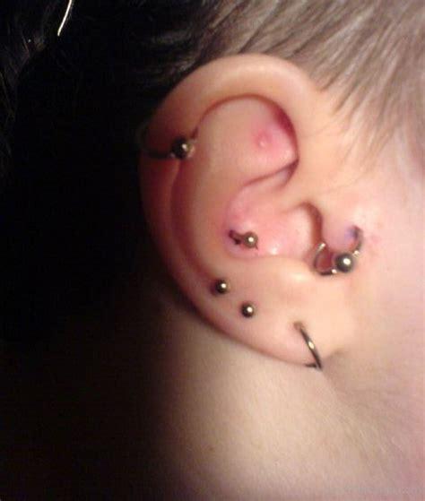 piercing oreille conch piercing anti helix carabiens le forum
