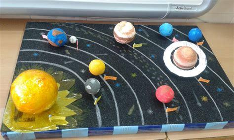 maquetas primaria sistema solar colegio p  blico gloria fuertes de albacete hacemos