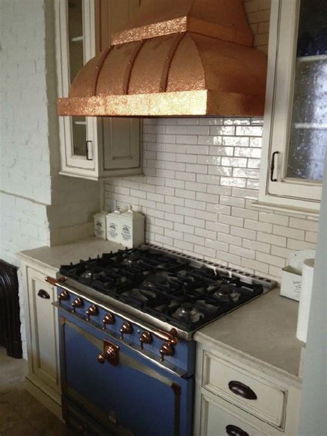 copper kitchen hood french kitchen elizabeth