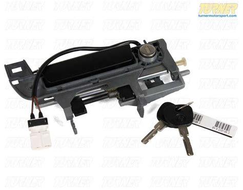 door lock e36 handle key front exterior right bmw parts turner