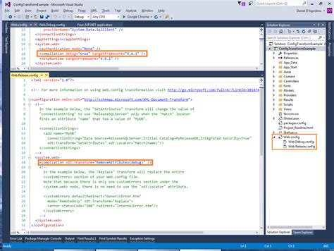 Transforming Config Files And Xml Documents