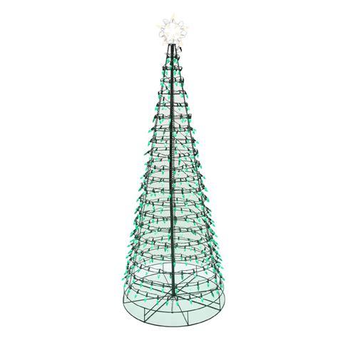 Energy Best 6' 350 Green Led Light Metal Christmas Tree
