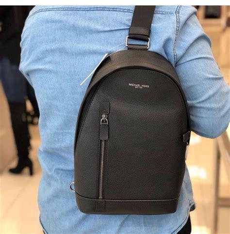 michael kors mens sling camo nylon backpack tradesy