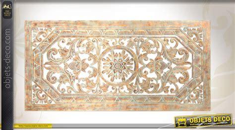 decoration murale en fausse d 233 coration murale en bois sculpt 233 et patin 233 finition ancienne