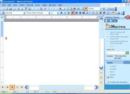 Windows Microsoft Word by Microsoft Office Learning Lesson 1 Microsoft Word 2003
