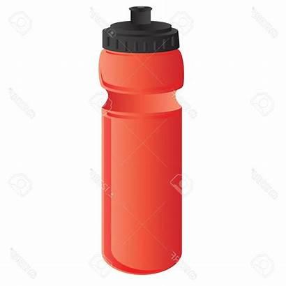 Water Bottle Clipart Reusable Bottles Cdr Sports