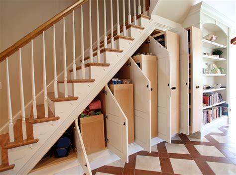 stairs closet shelving ideas