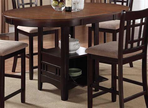 espresso counter height table coaster lavon counter height table light chestnut