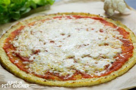 recette de p 226 te 224 pizza de chou fleur