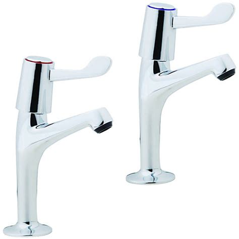 kitchen sinks and taps uk wickes modena pillar kitchen sink taps chrome wickes co uk 8585