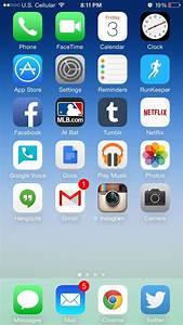 iPhone Home Screen — IPhone 6