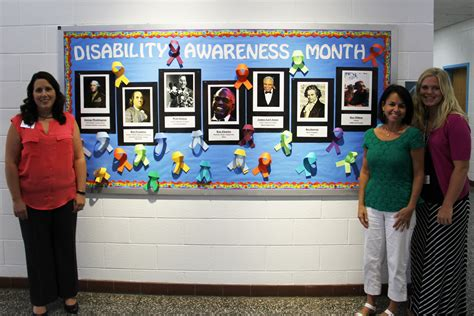 Schools Recognize Disability History And Awareness Month