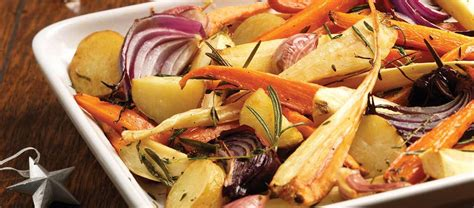 Starchy vegetables as the name suggests are vegetables with higher starch content. Pan-Roasted Christmas Vegetables recipe | Budgens.co.uk