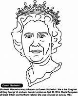 Queen Coloring Elizabeth Ii Inglaterra Rainha Clip Colorare Elisabeth Arts Crayola Colouring Disegno Desenho Colorir Visuels Immagini Della Libro Arte sketch template