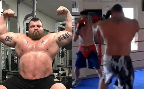 WATCH: 400lbs Current World's Strongest Man Steps Into The ...