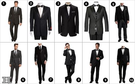 Tuxedo Styles For Body Types