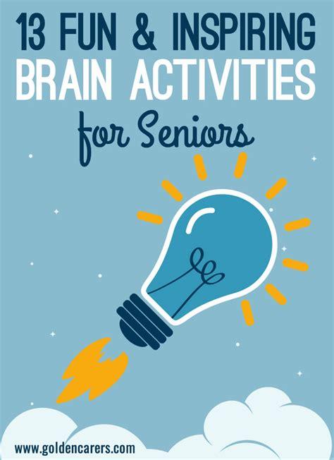 fun brain activities  seniors