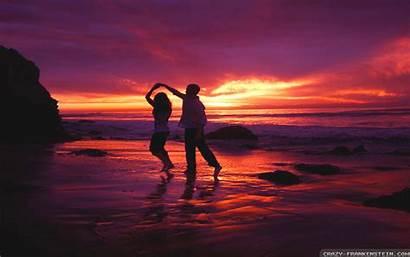 Romantic Dance Wallpapers Crazy Frankenstein Sunset Kiss