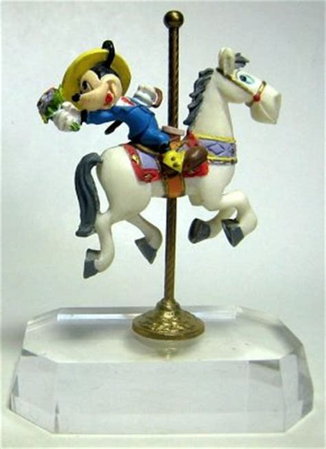 mickey mouse  carousel horse figure