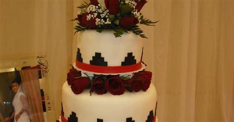 sprinklebelle navajo basket weave wedding cake