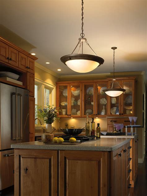 eclipse pendant in kitchen traditional kitchen other