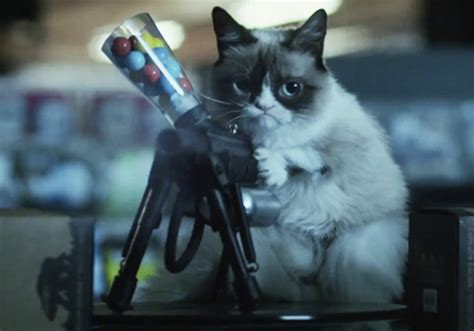 'grumpy Cat' Movie Trailer — 'worst Christmas Ever' On