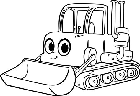 Get out your pens, your colored pencils and give color to life. Bulldozer Drawing at GetDrawings | Free download