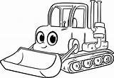 Bulldozer Coloring Excavator Pages Morphle Drawing Cartoon Clipart Equipment Digger Backhoe Sketch Colouring Heavy Construction Truck Simple Printable Cat Clipartmag sketch template