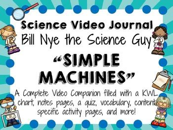 Bill Nye The Science Guy Simple Machines  Science Guy, Bill Nye And Simple Machines
